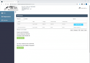 View and pay invoices online